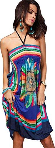 Island Floral Print Dress - 3