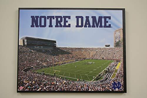 Notre Dame Fighting Irish Stadium Glory Artissimo Wall Art Canvas 22x28