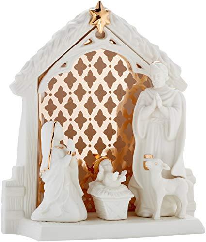 Lenox Illuminations Lit Nativity Scene (Nativity Lenox)