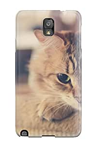 FH79RRYUPI3DJ5CQ Top Quality Case Cover For Galaxy Note 3 Case With Nice Cat Appearance
