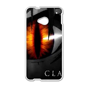 Cartoon Claymore for HTC One M7 Phone Case 8SS460986