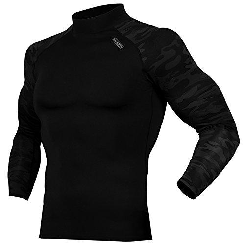 DRSKIN Compression Cool Dry Sports Tights Shirt Baselayer Running Leggings Yoga Rashguard Men (XL, - Team Shirts Golf Usa