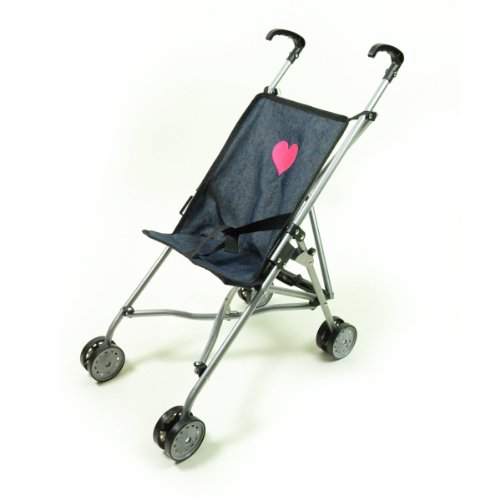 Toy Baby Doll Umbrella Stroller - 1