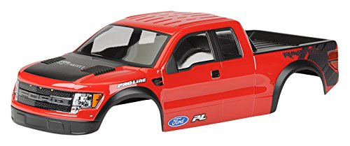 Body Painted Pre (PROLINE 334815 Ford F-150 SVT Raptor Body Pre-Cut/Pre-Painted (Red))