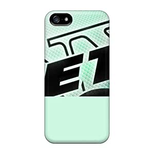 Durable Hard Phone Cases For Iphone 5/5s With Support Your Personal Customized HD New York Jets Skin MarieFrancePitre