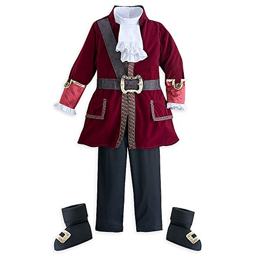 [Disney Captain Hook Costume Older Kids 13] (Captain Hook Costumes Disney)