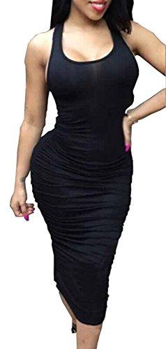 meledy-2016-womens-sleeveless-stretch-ruched-sundress-slim-summer-fold-vest-midi-bodycon-tank-evenin