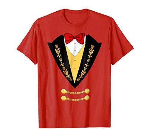 Circus Ringmaster Halloween Costume T-Shirt