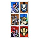 : Star Wars - The Clone Wars Stickers 4 Sheets
