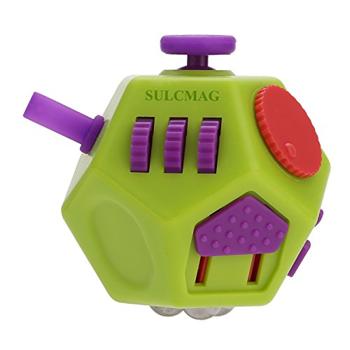 Hongyee Fidget Cube,Decompression Cube Relieves Anxiety and Stress for Children Teens Adults,Easy to Carry and Use