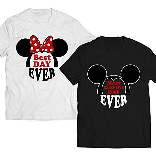 (Best-Day-Ever Most-Expensive-Day-Ever Matching-Couple-Mouse Happy-Valentines-Day-Gifts T-shirt Customized Handmade Hoodie/Sweater/Long Sleeve/Tank Top/Premium T-shirt)