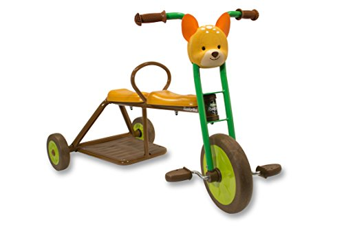 Italtrike Forester Deer Tricycle Two Seats Ride On (Double Seat Tricycle)