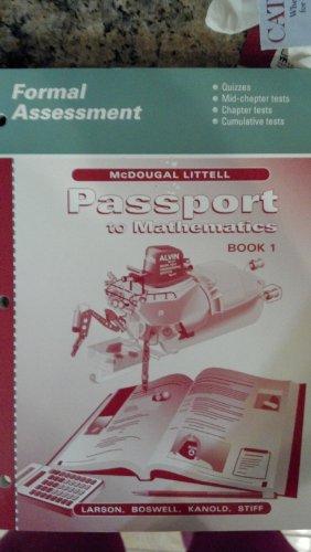 McDougal Littell Passports: Formal Assessment Book 1