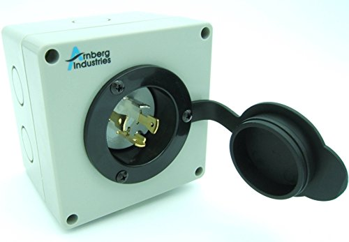 Outstanding 30 Amp Generator Inlet Box Ai Pb30 Power Cord Twist Lock Receptacle Wiring 101 Akebretraxxcnl