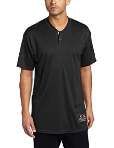 Easton Skinz 2 Button Placket Jersey, Black, Small