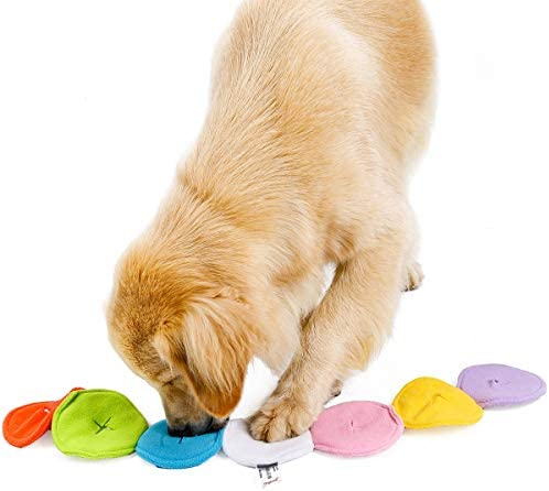 ETOPARS Hondenvoer Speelgoed Honden Snuiven Speelgoed IQ Training Hondenspeelgoed Snuffle Toy voor Honden Educatief Speelgoed voor Huisdieren Interactieve Voermat voor Honden