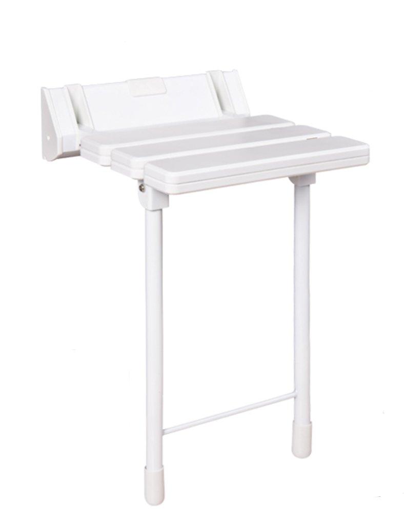 TH シャワーチェア 脚を持つバスルームチェア折り畳み式の椅子高齢者の子供の壁チェアを水遊び 風呂椅子 B07BW91N22