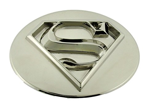 Superman Belt Buckle American USA Us Superhero Dc Comics Warner Brother ()