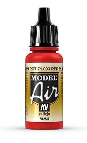 - Vallejo Scarlet Red Paint, 17ml