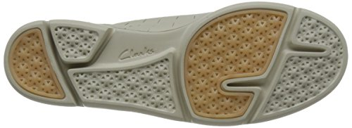 Clarks Ladies Casual Lace up Shoes 'Tri Etch' Beige AkgJpXes