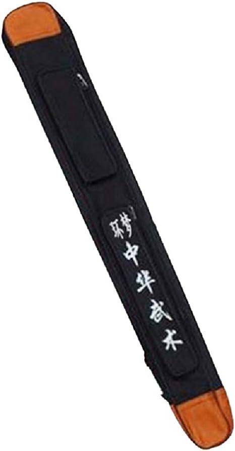 SHULI Bolsas para Espadas de 43 Pulgadas - Estuche para Llevar Espadas Multifuncional Tai Chi Artes Marciales Estuche para Transportar con Correa-Black: Amazon.es: Hogar