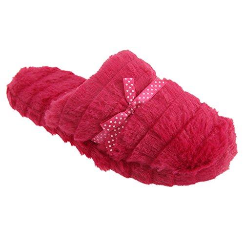 Zapatillas de estar por casa abiertas de memory foam Crema