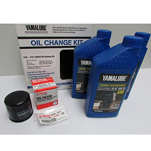 Yamalube-F30 ~ F70 Outboard Oil Change Kit (Yamaha Four Stroke)
