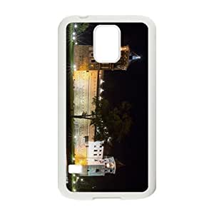 Castle Night Hight Quality Case for Samsung Galaxy S5