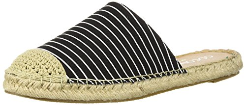 Coconuts by Matisse Womens Marguex Flat Sandal Black