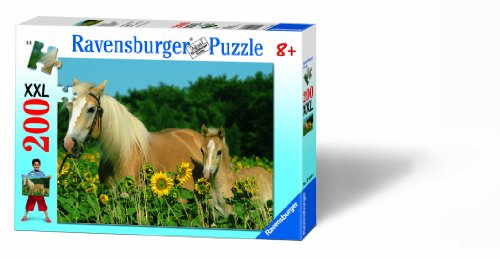 Ravensburger Horse Happiness Jigsaw Puzzle (200 (200 Pc Ravensburger Kids Puzzle)