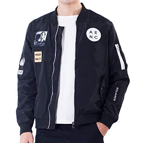 MA-1 ジャケット メンズ ブルゾン フライトジャケット ジャンパー ファッションジャケット カジュアル コート 秋 冬 春 Hanyam