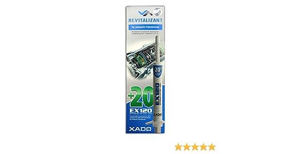 XADO EX120 Extreme Action 120% aceite aditivo para transmisiones automáticas - 8 ml: Amazon.es: Coche y moto