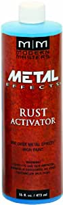 Modern Masters PA904-16 Rust Activator, 16-Ounce