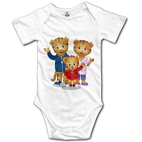 Daniel Tiger Family Custom Baby Unisex Romper Bodysuit Cotton