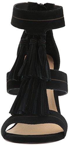 Nero Donne Chinese Camoscio Parlano Laundry Sandalo Vestito Semplice Nero YRPwPqxFzr