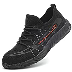 About JACKSHIBO Steel Toe Shoes AdvantageWork shoes are super sturdy. They feature our thinnest toe caps and still offer maximum protection from potentially dangerous machinery, equipment and falling objects. Engineered with heavy-duty temper...