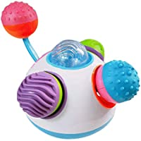 Educational Grasping Toy Baby Early Education Toy Music Light Soft Rubber Ball Toy