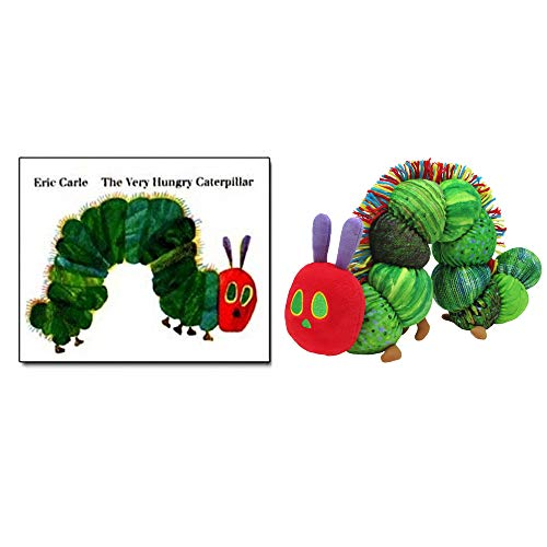(Kids Pref World of Eric Carle, The Very Hungry Caterpillar 50th Anniversary Baby Toddler Gift Set (Hard Book + Plush))