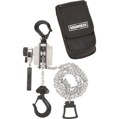 1/2 Ton Hoist - Roughneck Manual Lever Chain Hoist - 1/2-Ton Capacity, 12in. Head Room