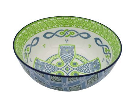 Royal Tara Irish Celtic Bowl With Celtic Cross Design ()