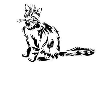 Pegatinas Para El Coche Pegatina Para El Gato Etiqueta Para Mascotas Calcomanías De Vinilo Vinilos Decorativos