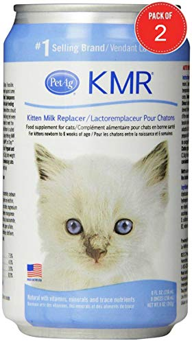 KMR Milk Replacer for Kittens (8 oz) (Pack of 2) by PetAg