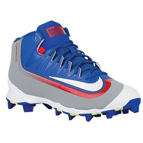 Nike Mens Huarache 2KFilth Keystone Mid Game Royal/University Red/Stealth/White Baseball Cleat 13 Men US