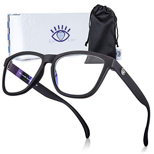 Blue Light Blocking Glasses for Women and Men, Eye Glasses for Computer and Gaming ()