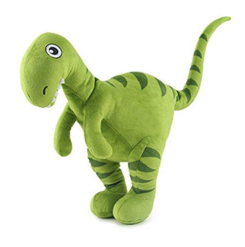 HugeHug Jurassic Dinosaur Plush Stuffed Toy for Kids 15 inches, for Boys Girls Birthday Gifts (Velociraptor)]()