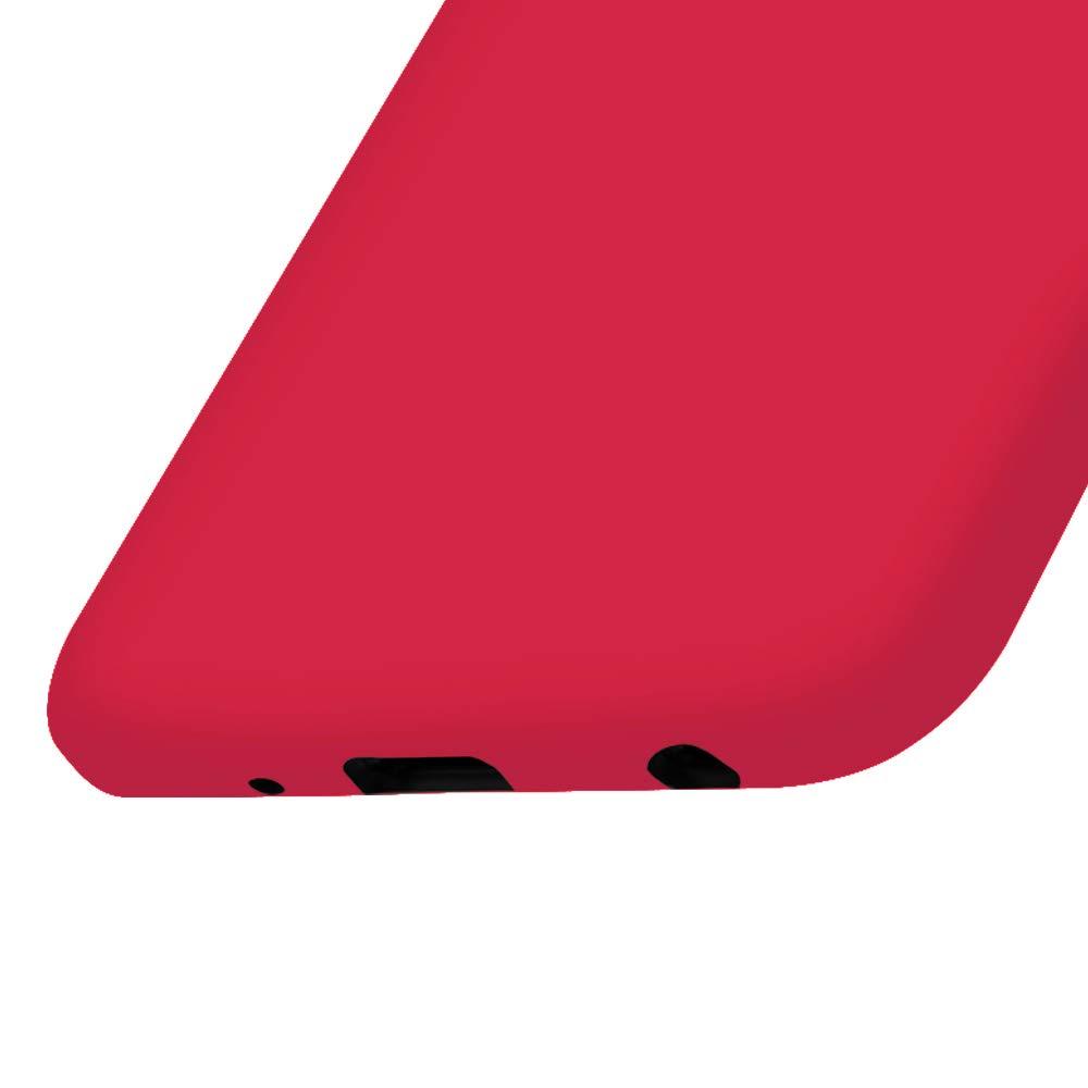 Bumper United Case Funda Ligera para Huawei Honor Play Resistente TPU|en Rojo