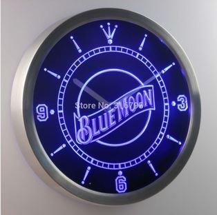 Amazon.com: Blue Moon Bar de Cerveza Pub neón señal LED ...