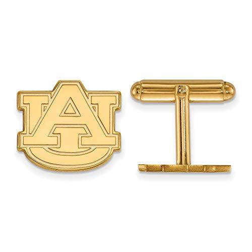 Kira Riley Gold Plated Auburn University Cuff Link ()