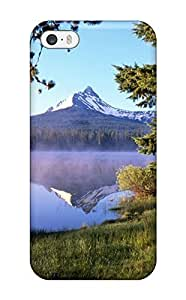 Forever Collectibles Big Lake At Sunrise Mount Washington Oregon Nature Other Hard Snap-on Case For Sam Sung Galaxy S4 I9500 Cover