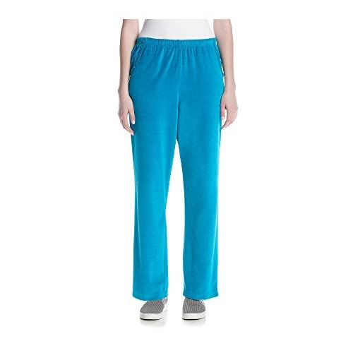 Alfred Dunner Women's Adirondack Trail Velour Pants free shipping